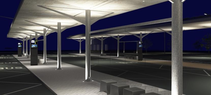Město Kladno finalizuje novou podobu autobusovéhonádraží